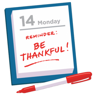 Is gratitude a part of your daily life?