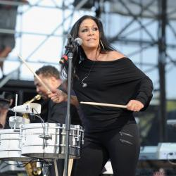 How percussionist Sheila E. eats well and exercises when she's on the road