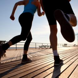 Couples play an important role in ensuring each other's fitness, as new research reveals.